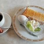 喫茶・軽食 春日 - 料理写真:モーニング