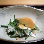 神楽坂 石かわ - ふく香菜和え