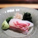 神楽坂 石かわ - お造り 鯛
