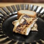 神楽坂 石かわ - 焼物 穴子 海老芋