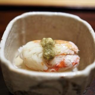 神楽坂 石かわ - 料理写真:中皿 松葉蟹 かぶら