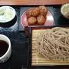 道の駅 大滝温泉 郷路館 - 料理写真:手打ちざる蕎麦&中津川いも