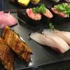 立ち寿司 - 料理写真:2016年2月  うなぎ、ハマチ、ネギトロぐんかん