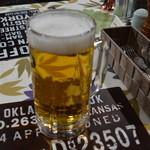 山中湖畔のステーキ酒場 - ビール