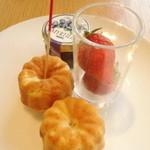 ラウンジ ORIGAMI - 苺と一緒に。