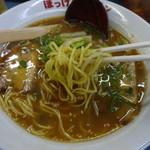 ぼっけゑラーメン - 麺リフト!