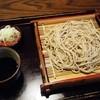 そば処 三津屋 出羽路庵 - 料理写真:いわゆるフツーの「せいろそば」です。