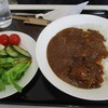 キッチン・マロン - 料理写真:カレー@670円とサラダ@100円