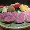 さぶら - 料理写真:いわて短角牛のタタキ(ハーフ)