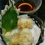 すし銚子丸 - 白子天ぷら