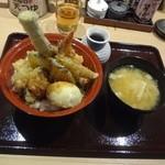 天ぷら海鮮友福 - 友福天丼890円