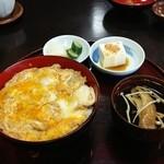 菊そば - 親子丼