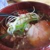 梅花亭 - 料理写真:天然鯛出汁そば1000円は鯛出汁茶漬け付き