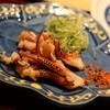 福助 - 料理写真:げそ焼き(たれ)