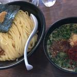 我流麺舞 飛燕 - 醤油つけ麺(750円)