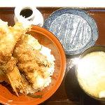 天ぷら海鮮友福 - 数量限定 大海老天丼¥1290(税込)