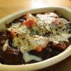 tipu - 料理写真:完熟トマトの焼きカレー(\950辛口でオーダー)