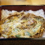 八沢川 - うな玉丼