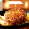 なるみ - 料理写真:粗挽ビーフハンバーグ定食
