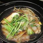 秋田きりたんぽ屋 - ランチの鍋