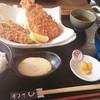 わさび - 料理写真:カキフライとエビ1匹