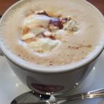 ベックス コーヒーショップ - キャラメルラテ ホット ショートサイズ