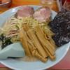 ラーメンかいざん - 料理写真:かいざんラーメン+メンマ(16-02)