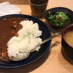 匠屋 あいべ - 米沢牛カレー(850円)
