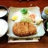 とんかつ藤 - 料理写真:特ロースかつ定食 1,600円(税込)