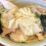 47863318 - 塩ワンタン麺¥850