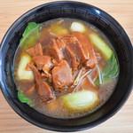 福香園 - 豚角煮ラーメン