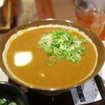 香川一福 - カレーうどん ご飯がほしいくらい(笑)
