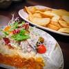 さかもと - 料理写真:海鮮サラダ?的なものとポテトフライ