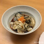 鮨 田可尾 - 料理写真:地物の天然牡蠣