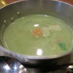 アパス - グリーンカレーのスープ