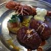 くいものや - 料理写真:海老フライとクリームコロッケのランチ