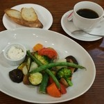 GROUND DINER - 彩り野菜のグリエ