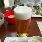 饗の詩 - ランチビール290円