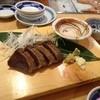 鮨 だり半 - 料理写真:カツオ藁焼き780円ハーフサイズ