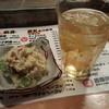 近藤傳八商店 - 料理写真:ポテトサラダとハイボール