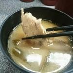 回し鮨若貴 - 若貴特選ランチ12貫(味噌汁付)702円