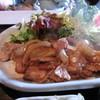 リーフハウス - 料理写真:しょうが焼き定食