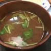 鮨 松栄 - 料理写真:〆はお味噌♪出汁は美味しいけど、具が無いー。