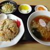 きのこ山ラーメン - 料理写真:セットランチA