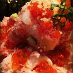 道玄坂 漁 - 蟹にいくらに魚介たっぷり\(^o^)/