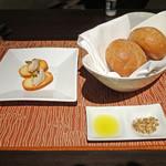 カフェ カリフォルニア - オリーブオイルに白ゴマ・クミン・ヘーゼルナッツ