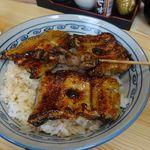 山信 - 2015年年12月(上鰻丼 1900円)