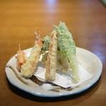 釜竹 - 天ぷら