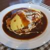 ビストロ シンク - 料理写真:オムライスセット900円。