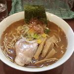 まめよし - 醤油ラーメン(大盛)(800円)